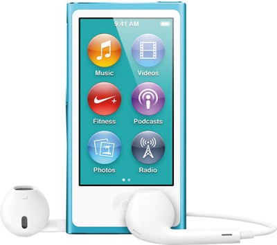 Apple iPod Nano 16 GB (Blue, 2.5 inch Display)
