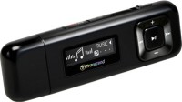 Transcend TS8GMP330K 8GB MP3 Player(Black, 1 Display)
