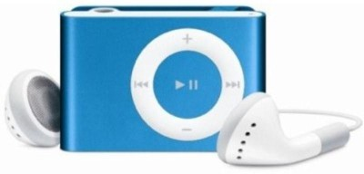 Mitaki Premium Design Hq Metallic Body Shuffle Design 1 GB MP3 Player(Metallic Blue, 0 Display)