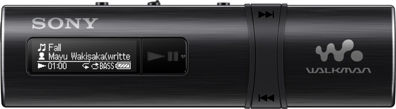 Sony NWZ-B183F 4 GB MP3 Player(Black, 2 Display)