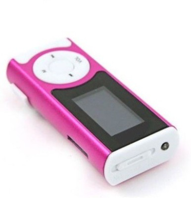 Khatu Great Sound Good Battery Life with HD LED Torch Functionality MP3 Player(Metallic Pink, 1.2 Display)