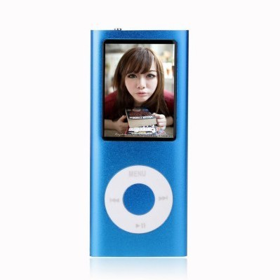 PTC Mart New Series MP4 Player(Blue, 1.8 Display)