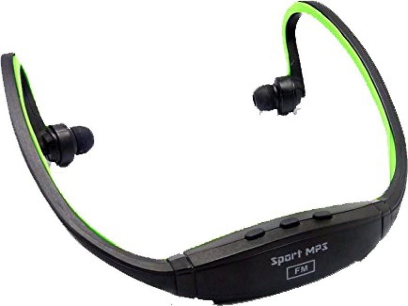 Futaba Wireless Sports Music FUB128SMP03 8 GB MP3 Player(Green, Black, 2 Display)