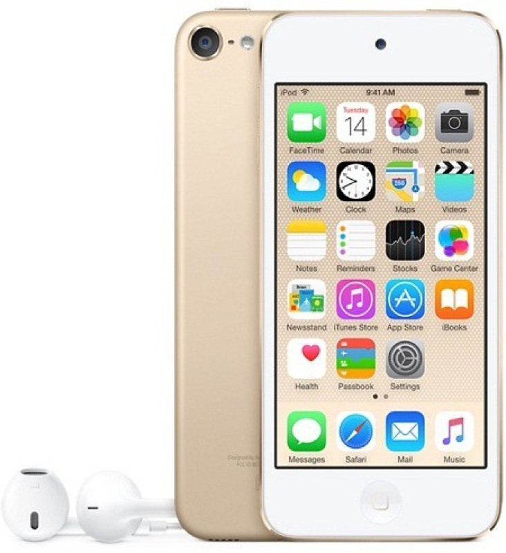 Apple iPod Touch 6th Generation,2015 Edition,A1574 32 GB(Gold, 4 Display)