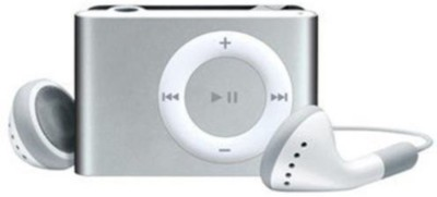 Mitaki Premium HQ Metallic Body MP3 Player(Metallic Silver, 0 Display)