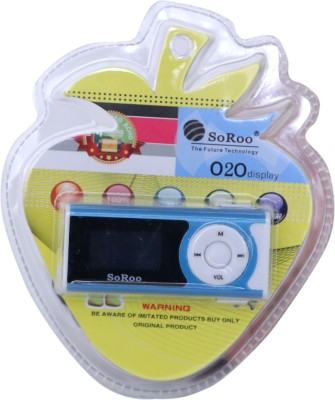 Soroo Digital Mp3 Player Player 4 GB MP3 Player