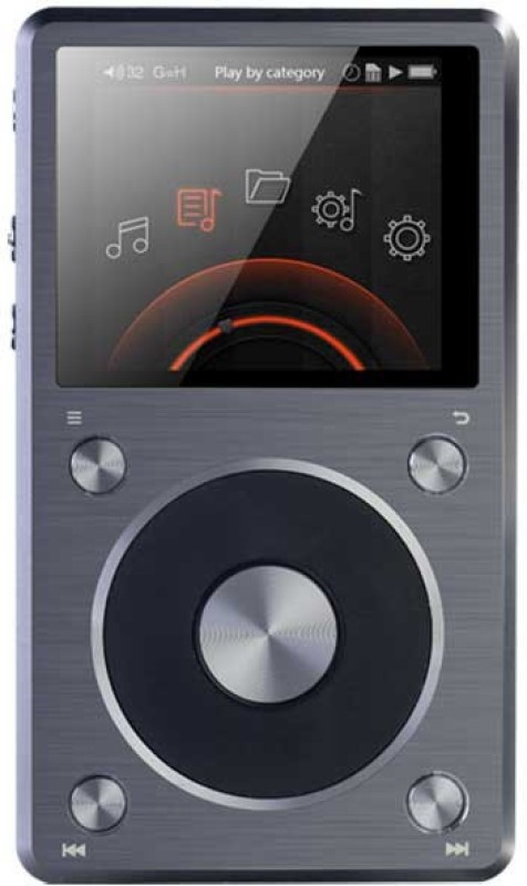 FiiO X5 2nd Gen 128 GB MP3 Player(Titanium, 2.4 Display)