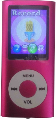 PTCMart MP01270 MP4 Player(Pink, 2.4 Display)