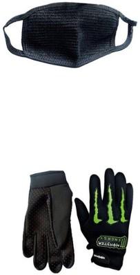Monster 1 Set of 2 Monster Gloves,1 Pollution Mask Combo