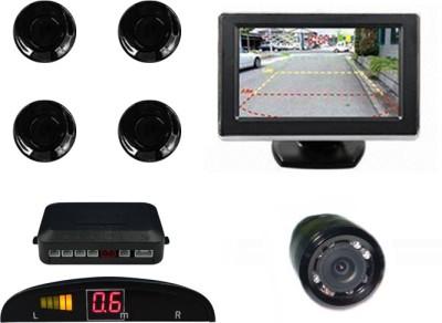 Speedwav 1 Rear View Mirror Screen, 1 4.3 Inch Screen & Camera-Maruti Swift Old Combo