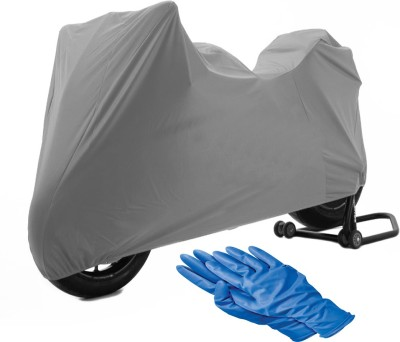 Time 1 TVS Max Grey Cover, 1 With Rubber Gloves Combo