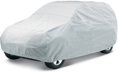AutoStark Mahindra Thar Car Body Cover With Non Slip dashboard Mat Multicolor Combo