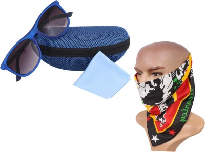 Sushito Headwrap, and Sunglass with Case Combo