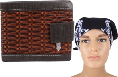 Sushito Designer Headwrap With Wallet Combo