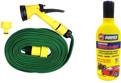 Speedwav 1 Pressure Washing Spray Jet Gun 10 meter, 1 Abro Shampoo 100ml Combo