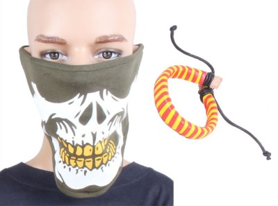 Sushito Riders Face Mask Combo Wrist Band Combo