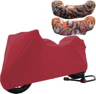 WildPanther 1 TVS Max 4R Cover, 1 Pair Arm Sleeves Combo