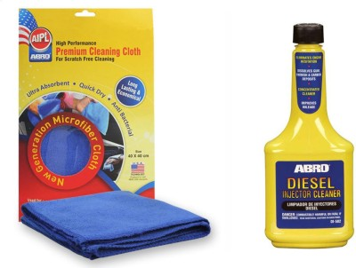 Abro 1 Diesel Injector Cleaner DI502 (200 ml), 1 Microfiber Cloth Combo