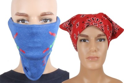 Sushito Anti pollution Face Mask Combo Red Hedwrap Combo