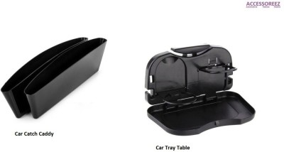 ACCESSOREEZ Catch Caddy + Car Tray Table Combo