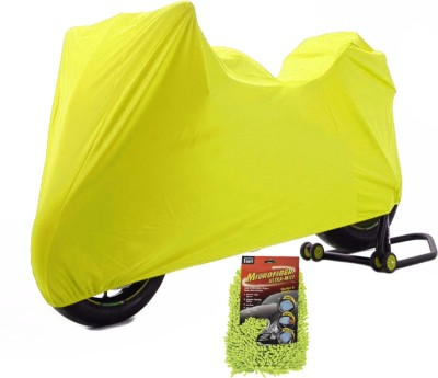 Time 1 TVS Max Yellow Cover, 1 With Microfiber Glove Combo