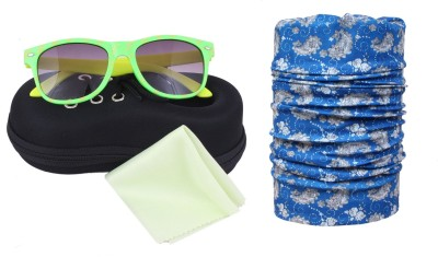 Sushito Harm Bandana and Special kids Choice Sunglass with Case Combo