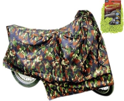 Time 1 TVS Max Multicolor Cover, 1 With Microfiber Glove Combo