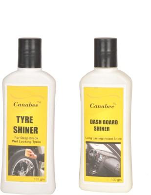 Canabee Dashboard Shiner, Tyre Shiner Combo