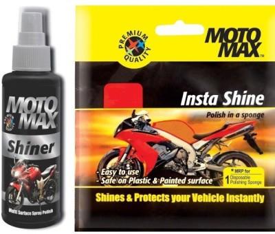 MotoMax 1 Motomax Shiner, 1 Insta Shine Combo