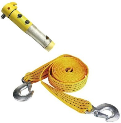 Nimarketing 1 Towing Cable Yellow, 1 Car Hammer Combo