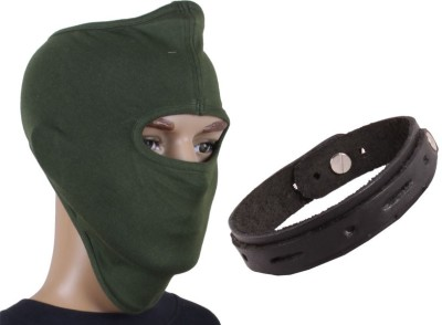 Sushito Green Full Face Mask Combo Wrist Band Combo