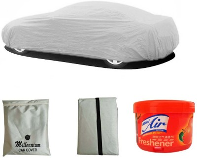 Millennium 1 Car Body Cover, 1 Car Air Freshener Combo