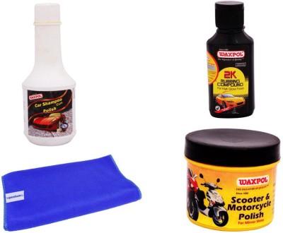 Waxpol 1 Water Spray Gun, 1 Formula1 Shampoo-236ml Combo