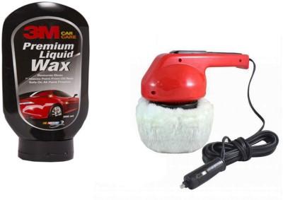 Coido 1 Car Polisher, 1 3M Car Wax Polish 200ml Combo