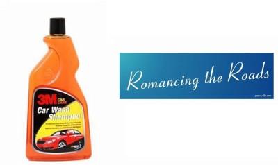 3M 1 Car Bumper Sticker-Romancing The Roads, 1 Premium Shampoo 500ml Combo