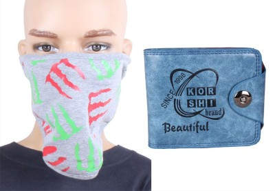 Sushito Trendy Face Mask Combo Wallet Combo