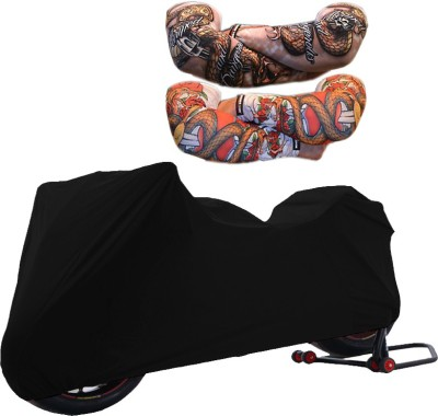 WildPanther 1 TVS Phoenix Cover, 1 Pair Arm Sleeves Combo