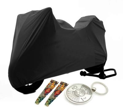 Bull's Eye 1 Yamaha Fazer Body Cover, 1 Key Chain, 1 Pair Arm Sleeve Combo