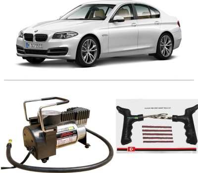CreativeVia AutoCut-OFF Premium Metal Air Compressor With Tyre Punture Repair Kit For BMW 5 Series Combo