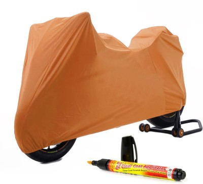 Time 1 TVS Max Brown Cover, 1 With Scratch Remover Combo
