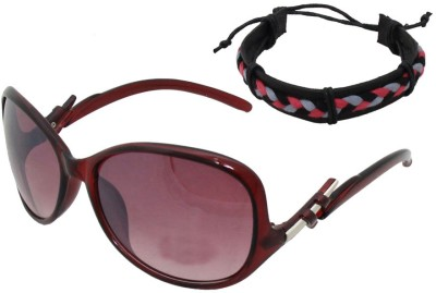 Sushito College Sunglass With Wrist Band Combo