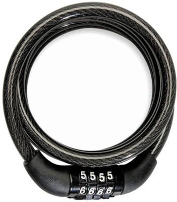 Onlinemart Iron Cable Lock For Helmet