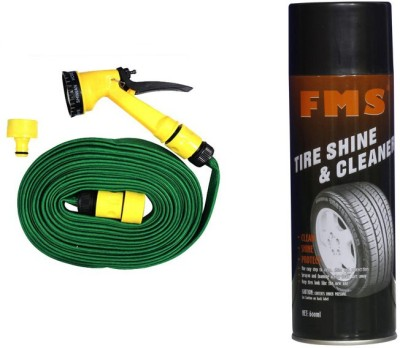 FMS 1 FMS Auto Tyre Shine and Cleaner 600ml, 1 Pressure Washing Gun Combo