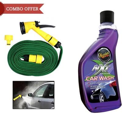 Meguiar's 1 Meguiars NXT Generation Car Wash-532ml, 1 Speedwav Pressure Washing Gun Combo