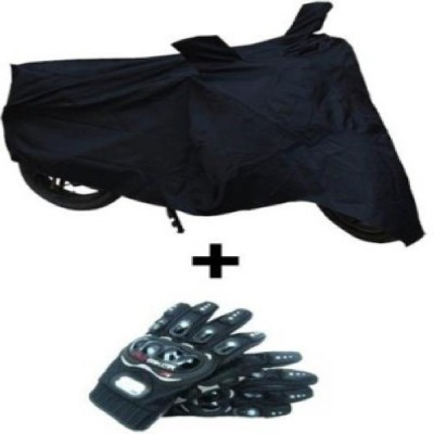 Joynix 1 Pair Pro Biker Black Xl, 1 Bike Body Cover Combo