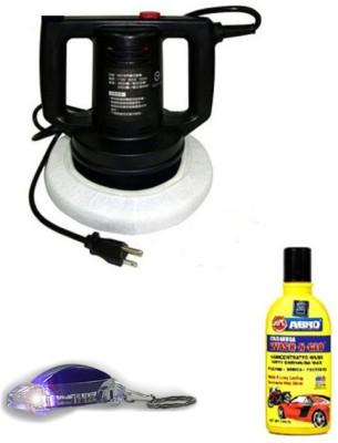 Coido 1 Coido 6016 Heavy Duty Car Polisher with Free shampoo & keychain Combo