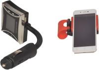 Canabee 1 Fm Modulator, 1 Steering Wheel Mobile Holder Combo