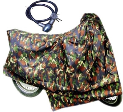 Time 1 TVS Max Multicolor Cover, 1 With Helmet Lock Combo