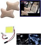 Auto Pearl 1Pcs Neck Rest Beige, 1Pcs SM...