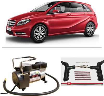 CreativeVia AutoCut-OFF Premium Metal Air Compressor With Tyre Punture Repair Kit For Mercedes Benz B Class Combo